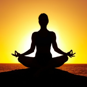 Традиционный приём техники медитации